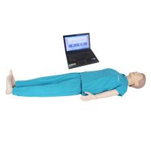 Fortgeschrittene medizinische Erste-Hilfe-Fähigkeit CPR Training Manikin