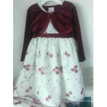 coat& printed Princess Dress