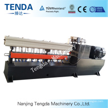 The Twin Screw Extruder of PVC PE
