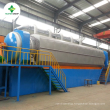 Fully Automatically Continuous Used Tyre Pyrolysis Oil Machine With European Standard Dust Removing Device