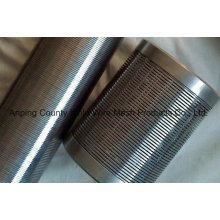 Pantalla de alambre de cuña de acero inoxidable para suministro de agua