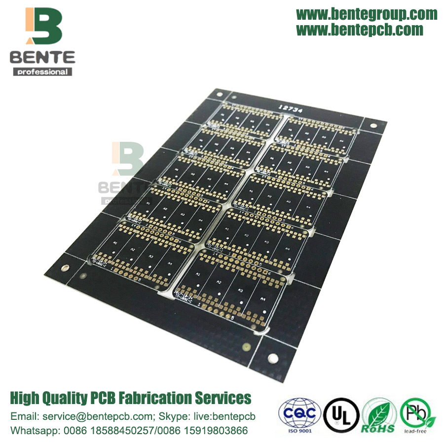 Black Ink PCB Prototype
