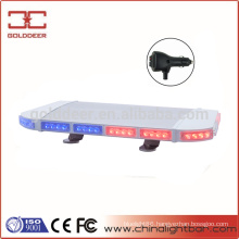 Aluminum Frame Police Magnetic LED Mini Strobe Lightbar (TBD03966)