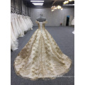 HA749B Baiyi wedding dress 2018 luxury ball gown wedding dresses off shoulder