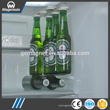 Imán de cerveza, perchas magnéticas para cerveza y soporte para cerveza y bebidas, frigorífico para almacenamiento de botellas magnéticas Bottleloft
