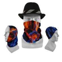 Fashion accessories custom logo cycling climbing mask tubular headwear hawaiian bandana