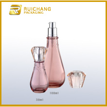 Cosmetic Glass Bottle Set
