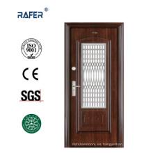 Puerta de acero en la puerta / Puerta de acero con ventana (RA-S104)