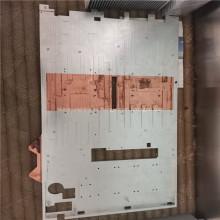 Perfiles de disipador de calor de espátula de aluminio para refrigeración electrónica