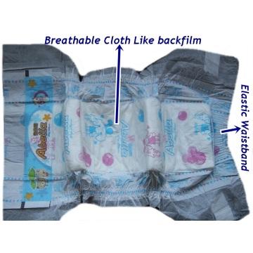 Marke Abella hochwertiges Tuch wie Windeln für Baby