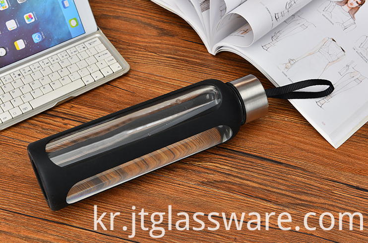 High Borosilicate Glass Water Bottle