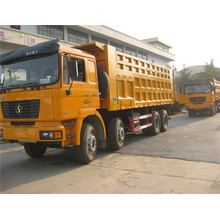 Shacman 8X4 420HP dump truck in uae met weichai engine shacman dump truck