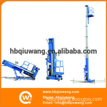 Aluminium single person hydraulic lifts/vertical electric man lift