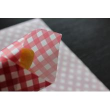 customized printed hamburger/sandwish wrapping paper