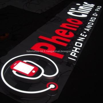 Afficheur LED commercial