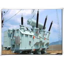 220kv Transformador de potencia de distribución manufacturada para fuente de alimentación