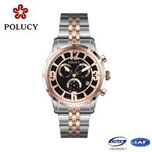 Montre-bracelet de fabricant d'OEM Chronographe