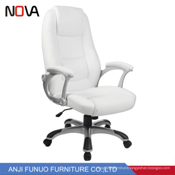 Simple chair designs conference room white leather computer office chair for sale