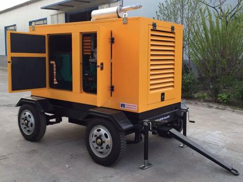 Weichai 60HZ 65KVA Mobile Generator Set for Sale