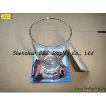 Papier + MDF + Kork Cafes Coaster, Gläser Cup Coaster, 4mm Platz Tischset mit SGS (B & C-G101)