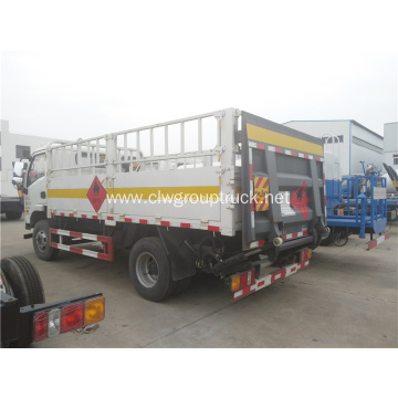YUEJIN 5 meter cylinder carrier truck for sale