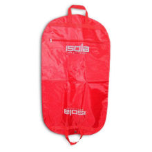 70D Nylon Garment Cover with Plastic Backing, 1 Color and 2 Positions Printing