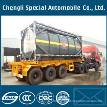 Recipiente do tanque do líquido do contentor do transporte do ISO de 20 ′