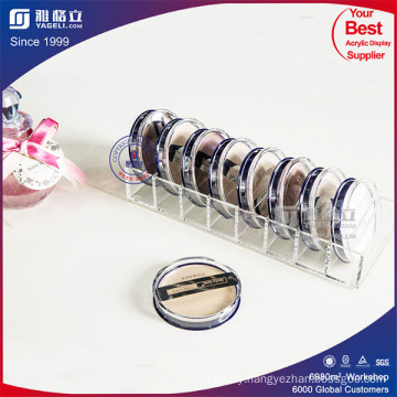 Best Selling Beauty Crystal Acrylic Compact Holder 8 Slots