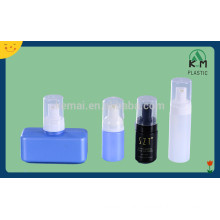 100ml 250ml 300ml PET square plastic lotion pump bottle for packaging