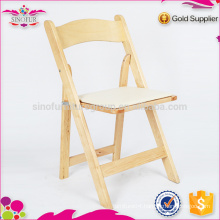 Hot Selling Qingdao Sionfur wooden foldable folding chairs