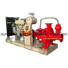 Automatische Selbstansaugende Abwasserzentrifuge Pumpe