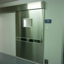 Para salas blancas, puertas correderas automáticas