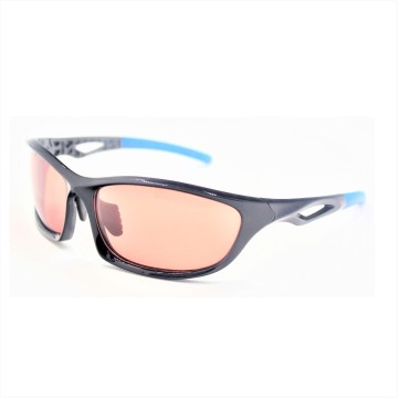 Shiny Black Sunglasses for Sports Men Wear-16036