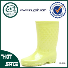 botas de lluvia de pvc mujeres impermeables botas de lluvia de pvc