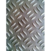 1060 five bars mirror stucco embossed aluminum sheet