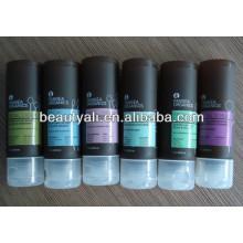 Tubes transparents cosmétiques avec capuchon suspendu