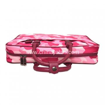 Pink Laptop with PU Handle