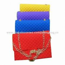 Hot sale colorful fancy silicone purse, OEM orders are welcome