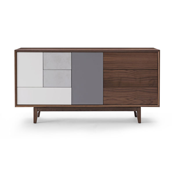 Modern wood sideboard