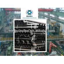 A333 GR6 seamless steel pipe for oil and gas from China