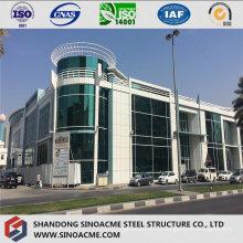 Современные тяжелые зал стальной структуры с несколькими этаж