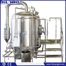 KUNBO Steam Jacketed & Electric 10BBL Bierbrühkessel