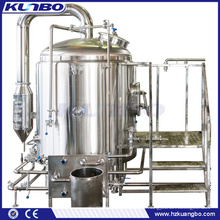 KUNBO Steam Jacketed & Electric 10BBL Beer Brew Kettle