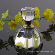 Decoração de mesa de garrafa de perfume de cristal (JD-QSP-341)
