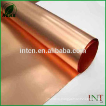 iso standard copper metallurgy thin copper foil