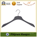 Nova Produção China Hanger Black Plastic Clothes Sweater Hanger