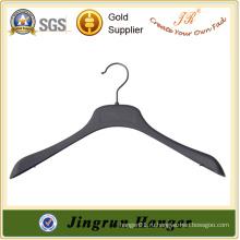 Новое производство Китай Вешалка Черная пластиковая вешалка для одежды