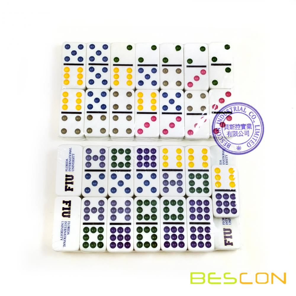 High Quality Custom Double 9 Domino Set