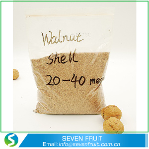 Abrasive material crushed walnut shell powder