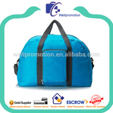 Customized foldable ladies duffle bags